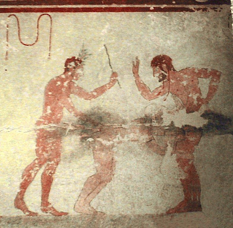 etruschi Tomba Della Fustigazione