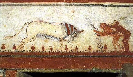 etruschi tomba-dei-tori-tarquinia