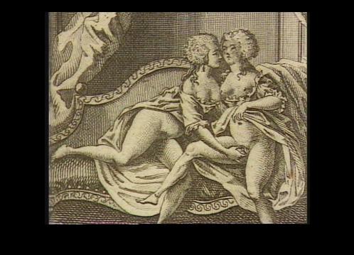 Maria Antonietta con una dama di compagnia