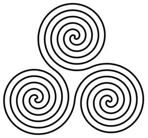 Decorazione celtica legata alle divinità