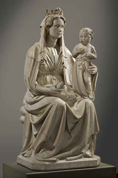 melagrana Jacopo della Quercia, Madonna della melagrana (1403-06).