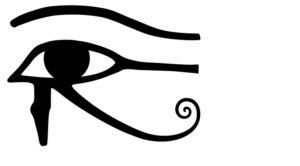L'occhio di Horus, simbolo di prosperità per gli antichi egizi