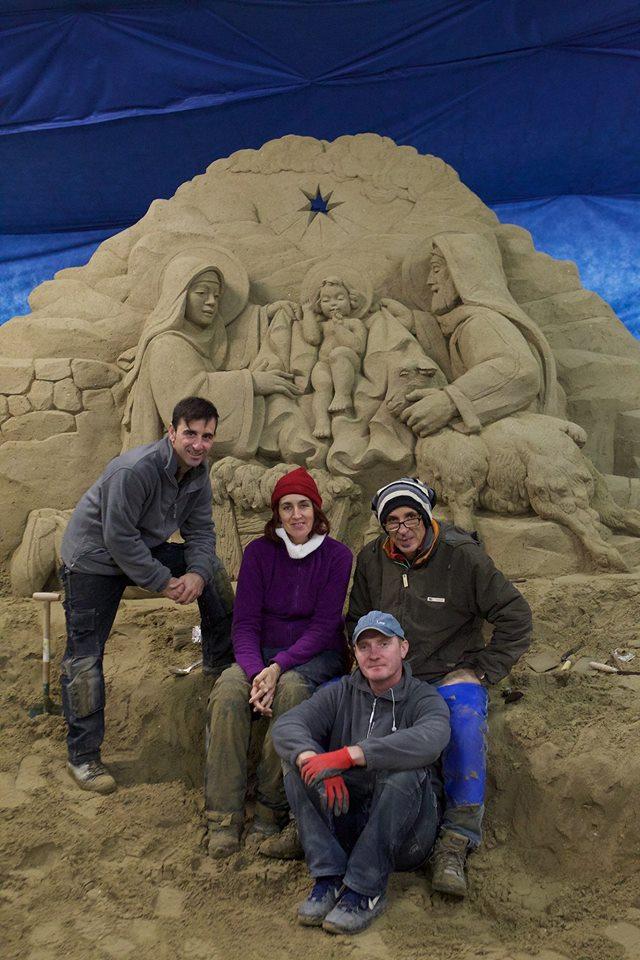 presepe  in sabbia 10