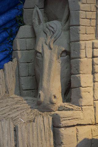 presepe  in sabbia 4