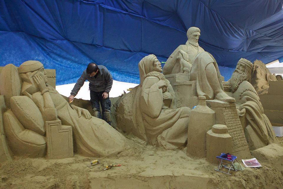 presepe in sabbia 7