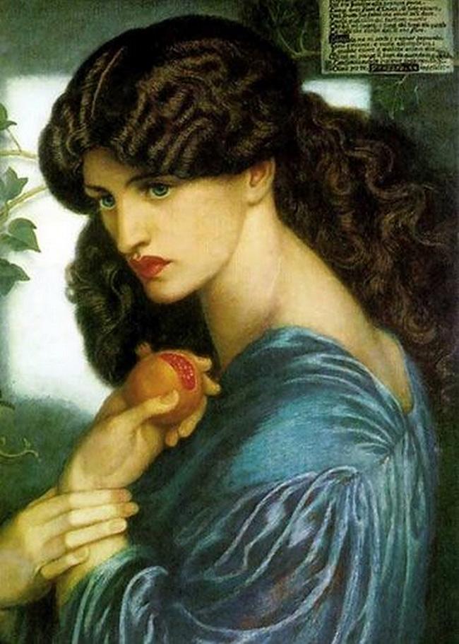 Dante Gabriel Rossetti, Proserpina
