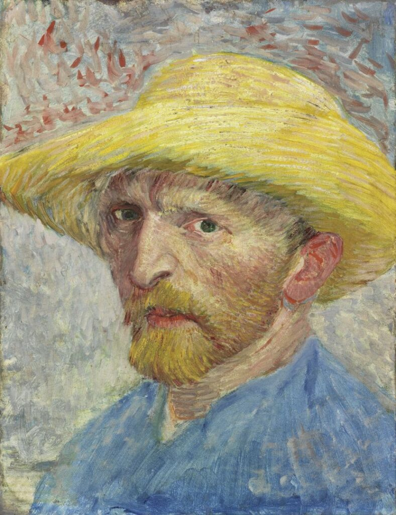 Vincent Willem van Gogh Autoritratto, 1887 Olio su tavola, 34,9 × 26,7 cm Detroit Institute of Arts, City of Detroit Purchase (22.13)