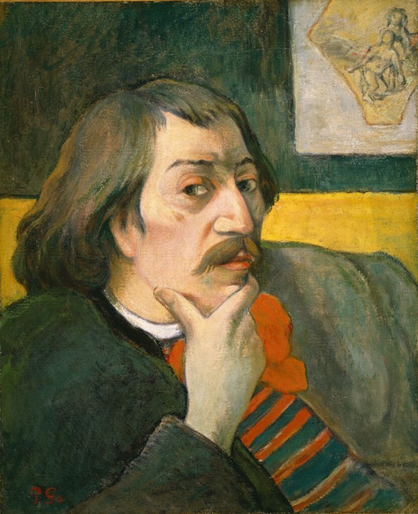 Paul Gauguin Autoritratto, 1893 circa Olio su tela, 46 × 38,1 cm Detroit Institute of Arts, Gift of Robert H. Tannahill (69.306)