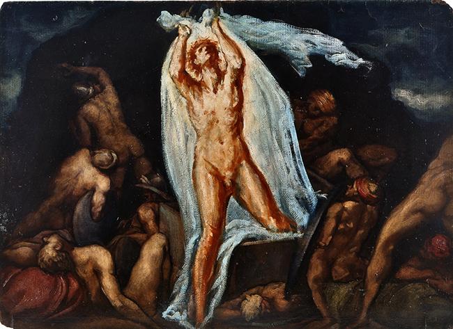 Resurrezione Émile Bernard (Lille 1868-Parigi 1941), 1925-1930, olio su cartone, cm 69 x 96. Città del Vaticano, Musei Vaticani, inv. 22984. Foto © Governatorato dello Stato della Città del Vaticano- Direzione dei Musei