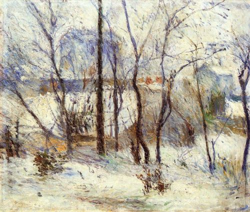 Paul Gauguin, Neve a Vaugirard, 1879