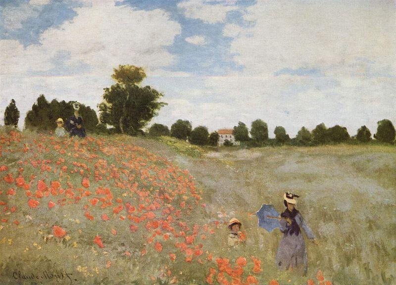 Monet papaveri 1873
