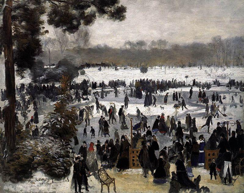 Renoir Patineurs 1868
