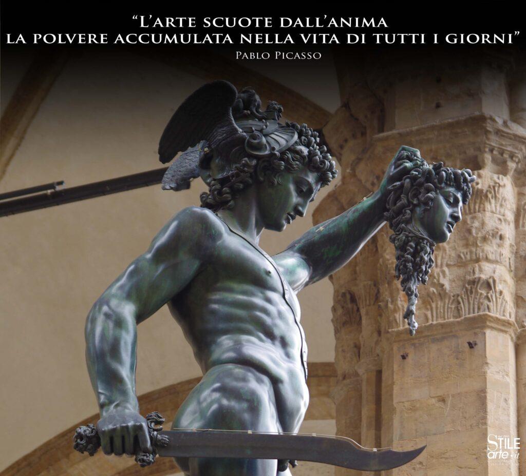 Cellini, Perseo con la testa di Medusa