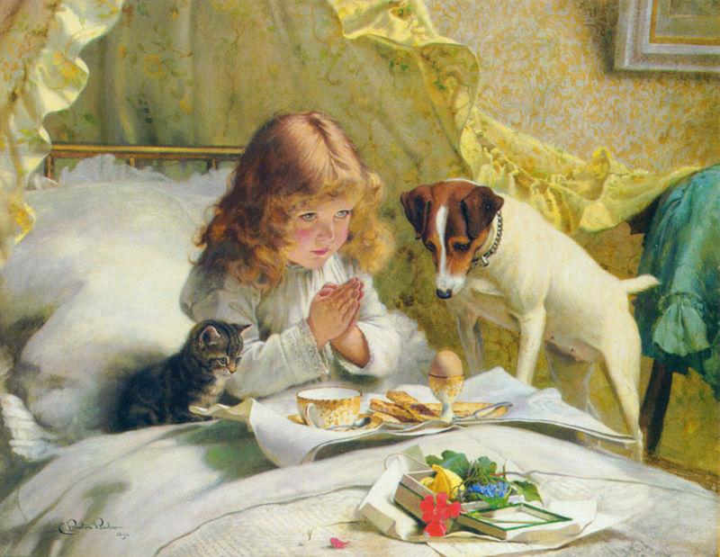 Assez Burton Barber, il massimo pittore di bambini con cagnolini e  FO66