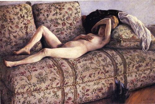 caillebotte nuda sul divane 2