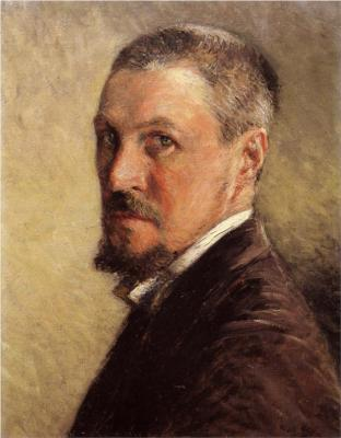 gustave-caillebotte autoritratto