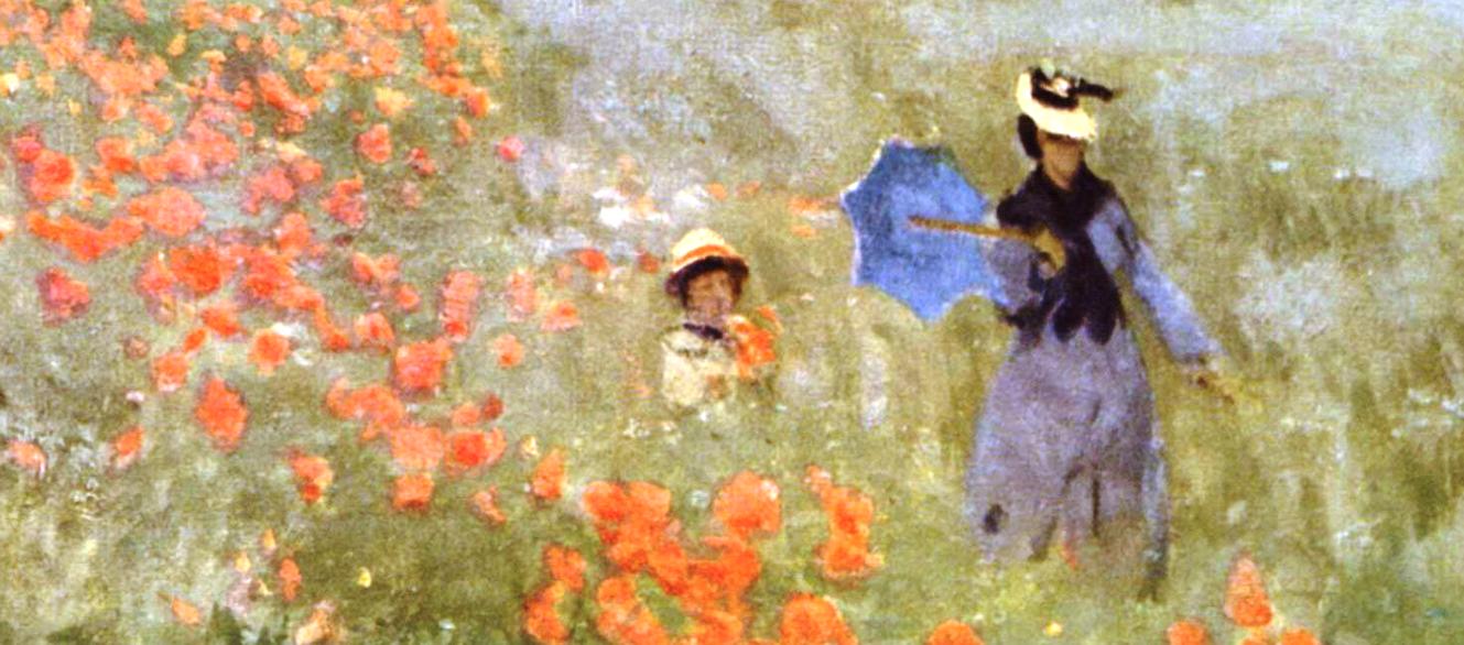 I papaveri nell'arte, il meccanismo della rivoluzione gioiosa di Monet -  Stile Arte