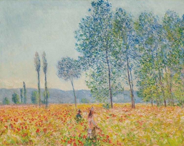 Claude Monet, Sous les Peupliers 1887