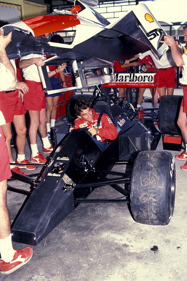 Jacarepaguà - G.P. Brasile, 1989 McLaren Honda © FOTO ERCOLE COLOMBO