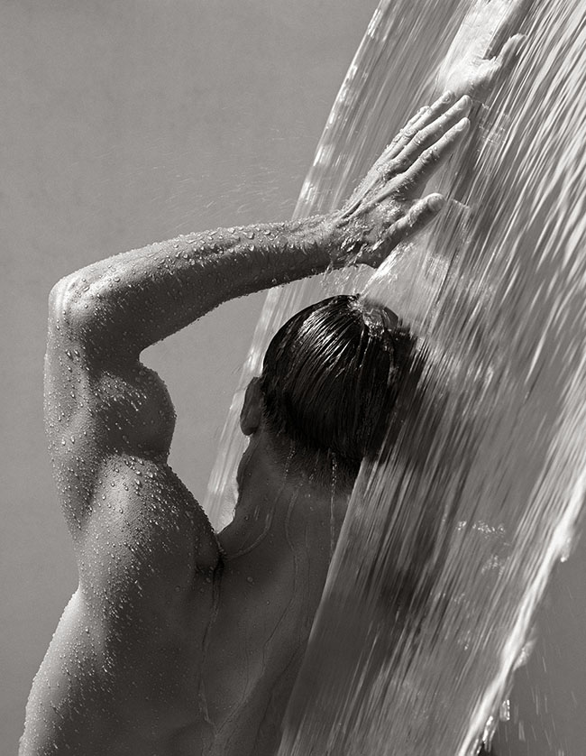 Herb Ritts, Waterfall IV, Hollywood 1988, Walk of Style