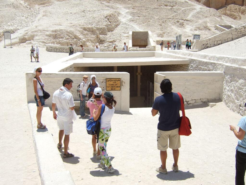 Tutankhamon entrata