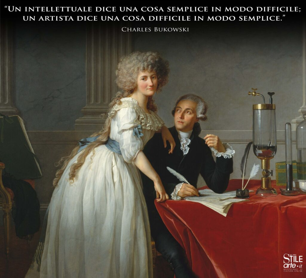 Jacques Louis David, Ritratto di Antoine Laurent Lavoisier e Marie Anne