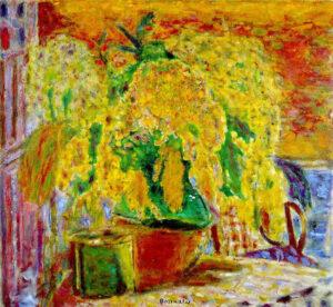 Pierre Bonnard, Mazzo di mimose