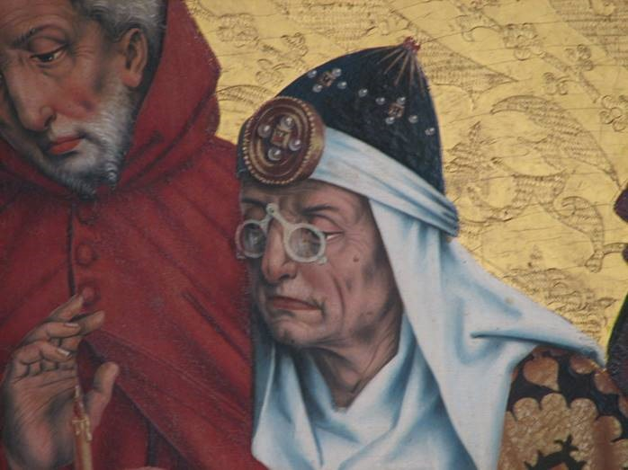 Gli Occhiali Nellarte Dal Medioevo Al Seicento Passando Per