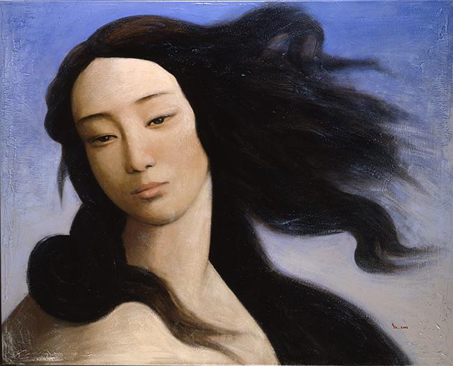 Venus, after Botticelli 2008 by Yin Xin Guillaume Duhamel, Private collection, courtesy Duhamel Fine Art, Paris