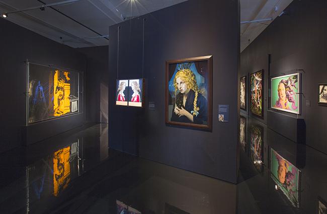 Installazione di Botticelli Reimagined