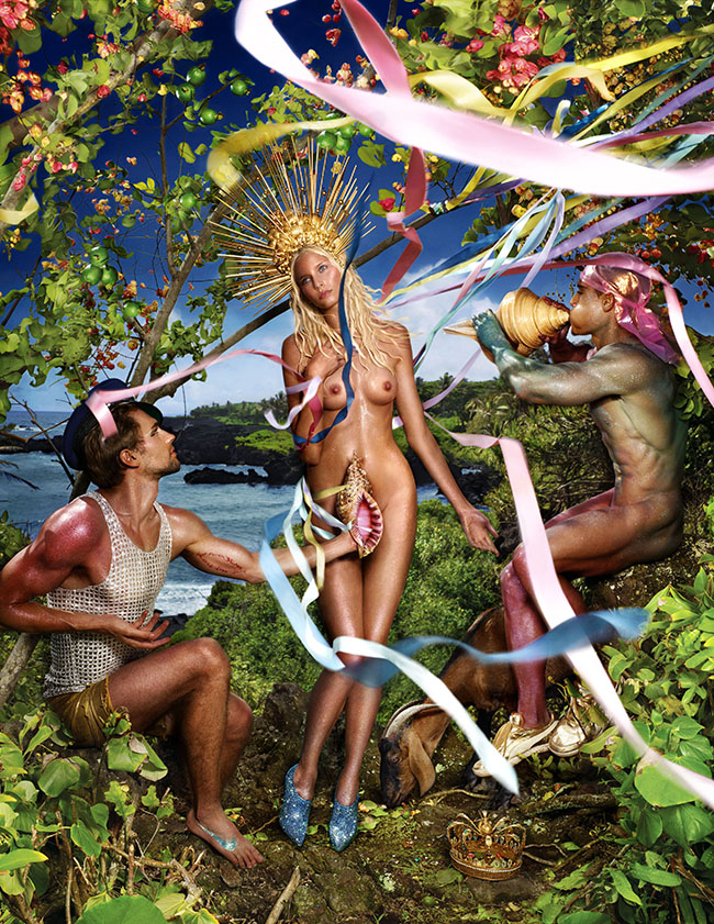 : Rebirth of Venus Artist: Creative Exchange Agency, New York, Steven Pranica / Studio LaChapelle Date: 2009 by David LaChapelle Credit line: (c) David LaChapelle
