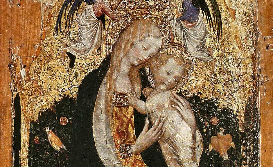 La Madonna della quaglia di Pisanello, una delle opere trafugate dal museo di Castelvecchio