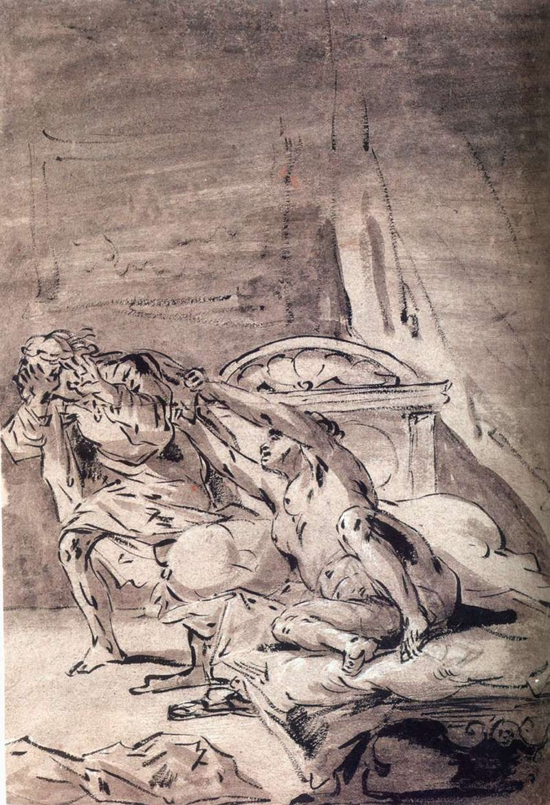 giuseppe e la moglie di putifarre Leonaert_Bramer