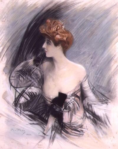 Giovanni Boldini, Ritratto di Sarah, 1880
