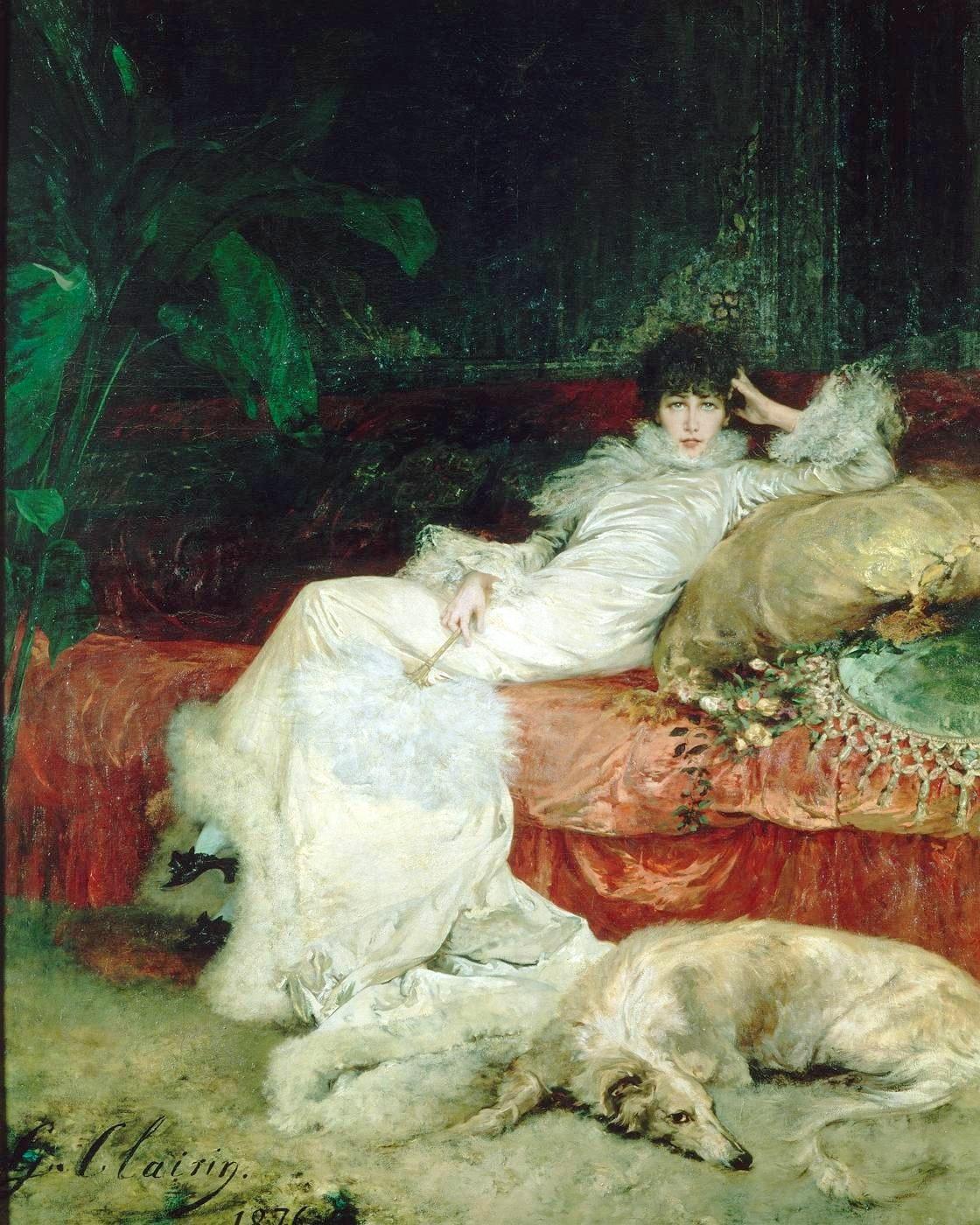 Georges-Clairin, Ritratto di Sarah Bernhardt