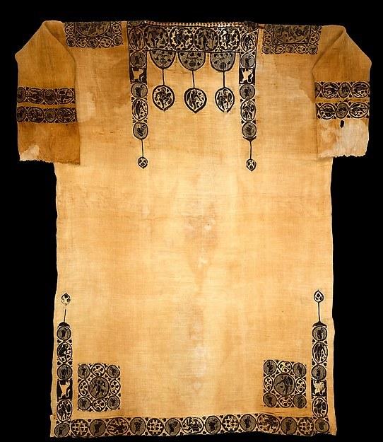 Arazzo tessitura di lana tinto, lino non tinti, pianura (tigrato) tessitura terreno della biancheria non tinta, L. 269,5 centimetri; W. 181,5 cm. Panopoli (Akhmim), l'Egitto, ca. All'inizio CE 6 ° secolo. Il Metropolitan Museum of Art, regalo di Edward S. Harkness 1926 (26.9.8