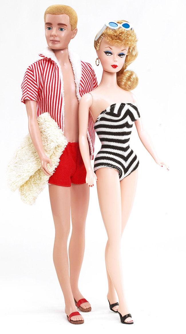 Barbie e Ken, 1961© Mattel Inc.