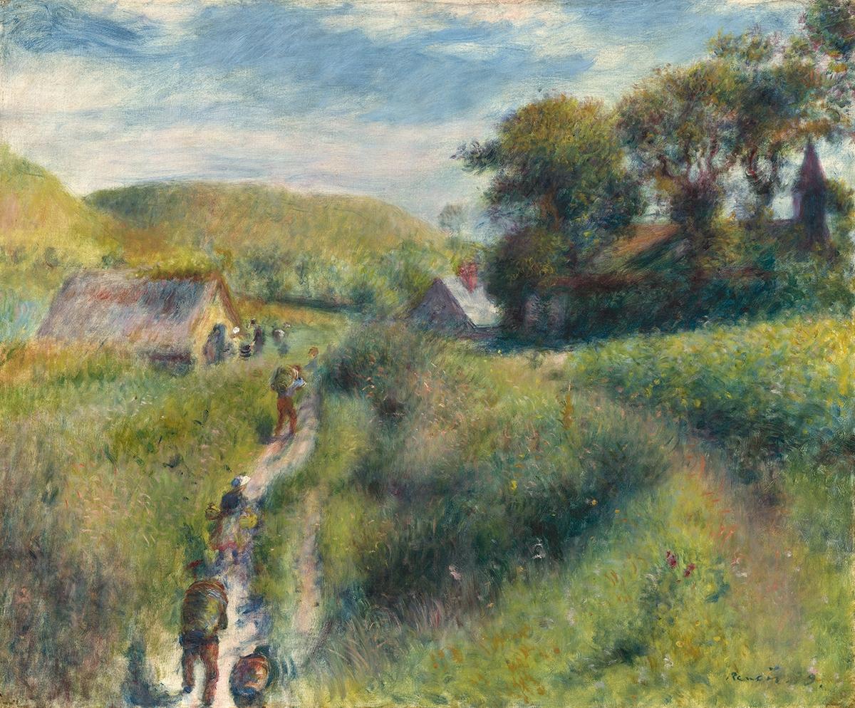 Pierre-Auguste Renoir, Raccoglitori di cozze