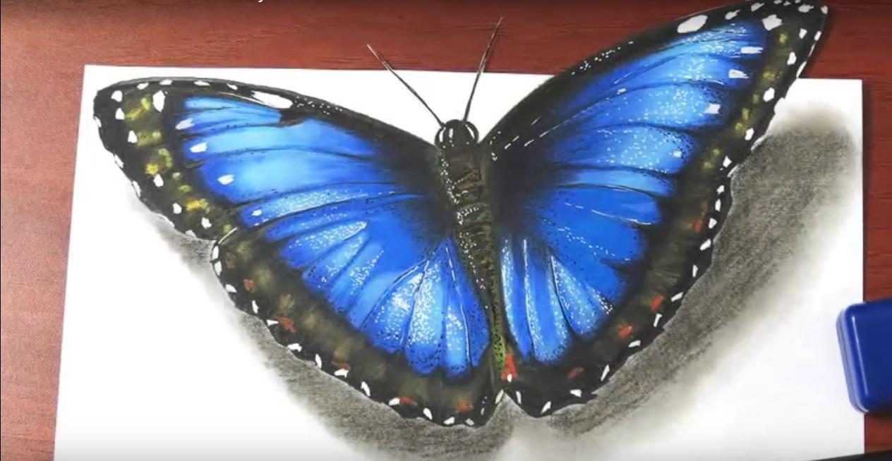 a farfalla