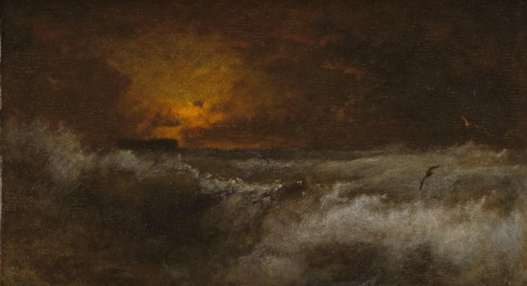 Popolare Come dipingere il mare, l'alba, le onde, la schiuma, la sabbia  NF86
