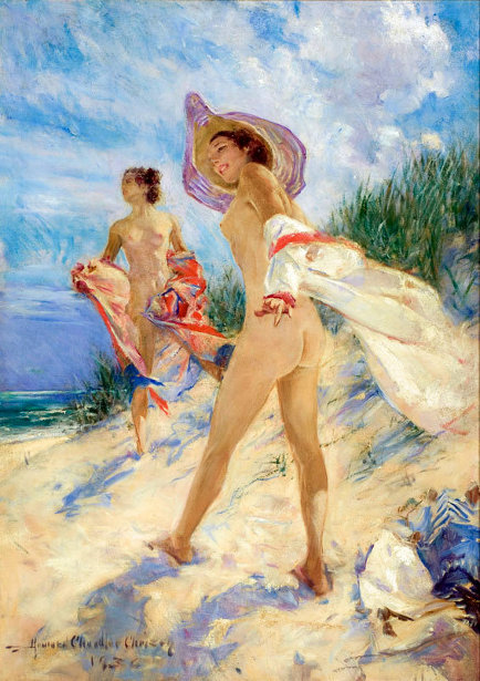 a Howard Chandler Christy (1873 – 1952, American) 1