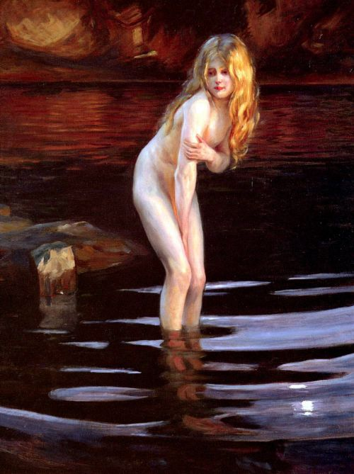 a Paul Emile Chabas (1869 – 1937, French)