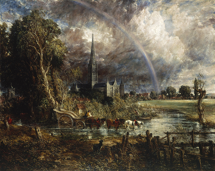 John Constable 'Salisbury Cathedral from the Meadows' 1831