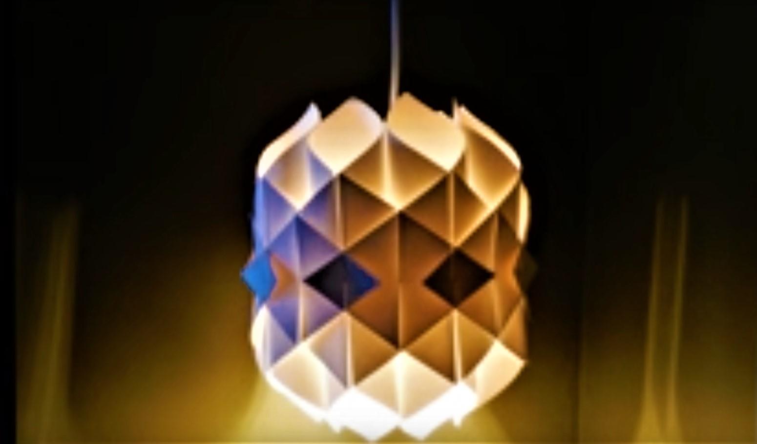 Lampadari Di Carta On Line : Come si realizza in carta uno splendido lampadario con luce