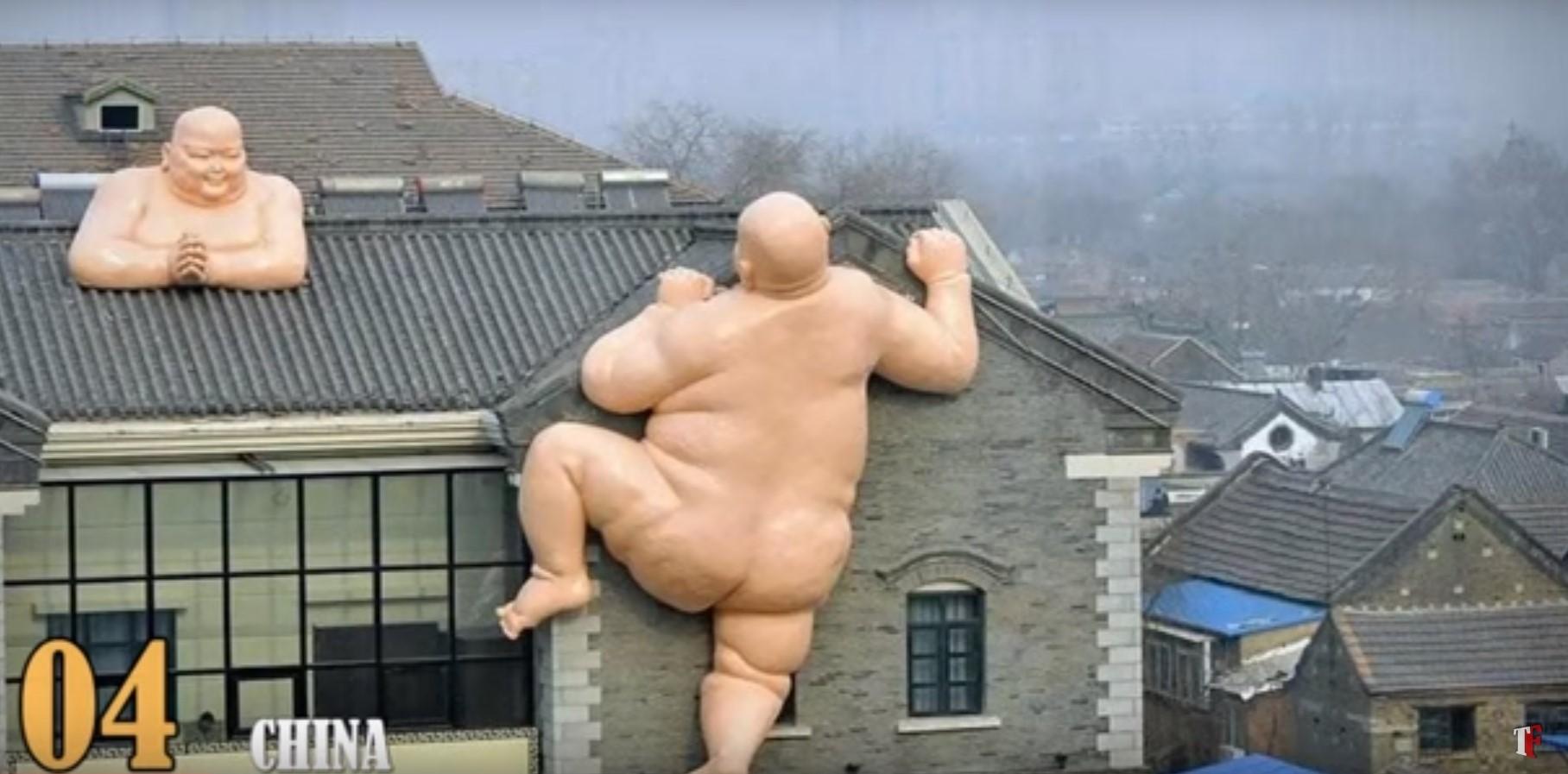 a scultura cina