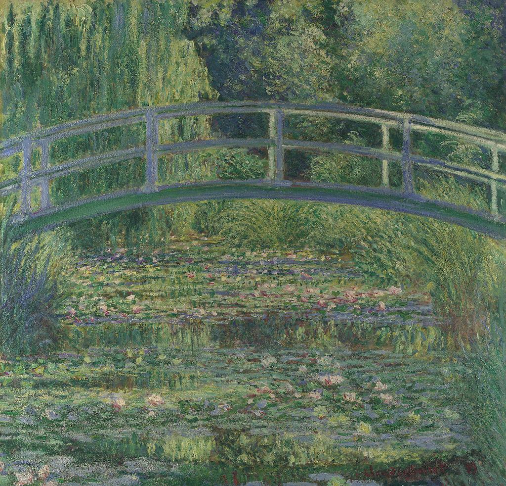 Claude Monet, Lo stagno delle nifnee, 1899