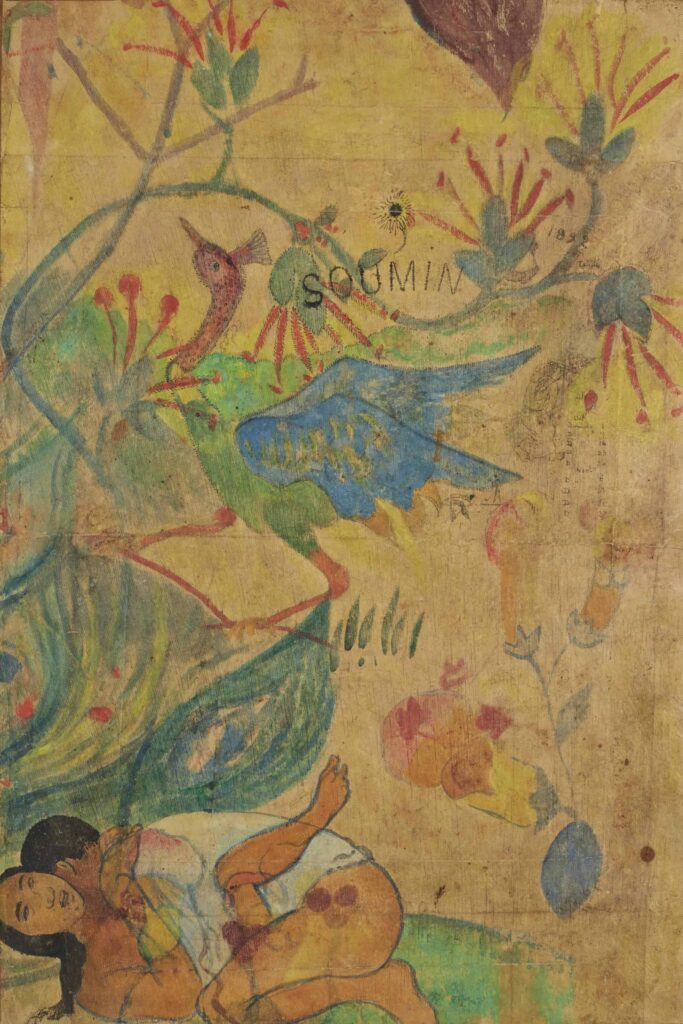 Paul Gauguin, L'ibis bleu, 1892
