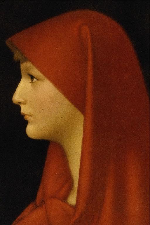 Fabiola di Jean-Jacques Henner. prototipo ottocentesco per i copisti