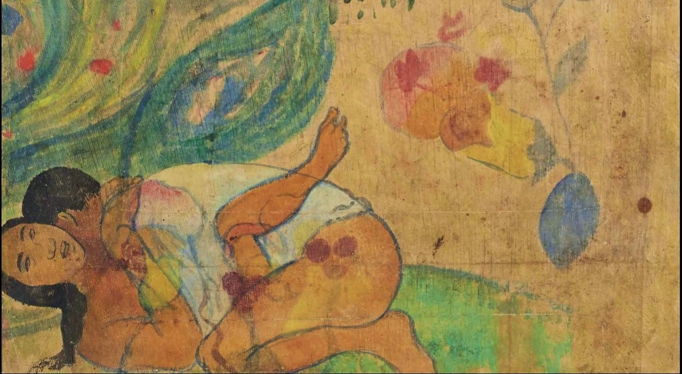 Paul Gauguin, L'ibis bleu, 1892, particolare