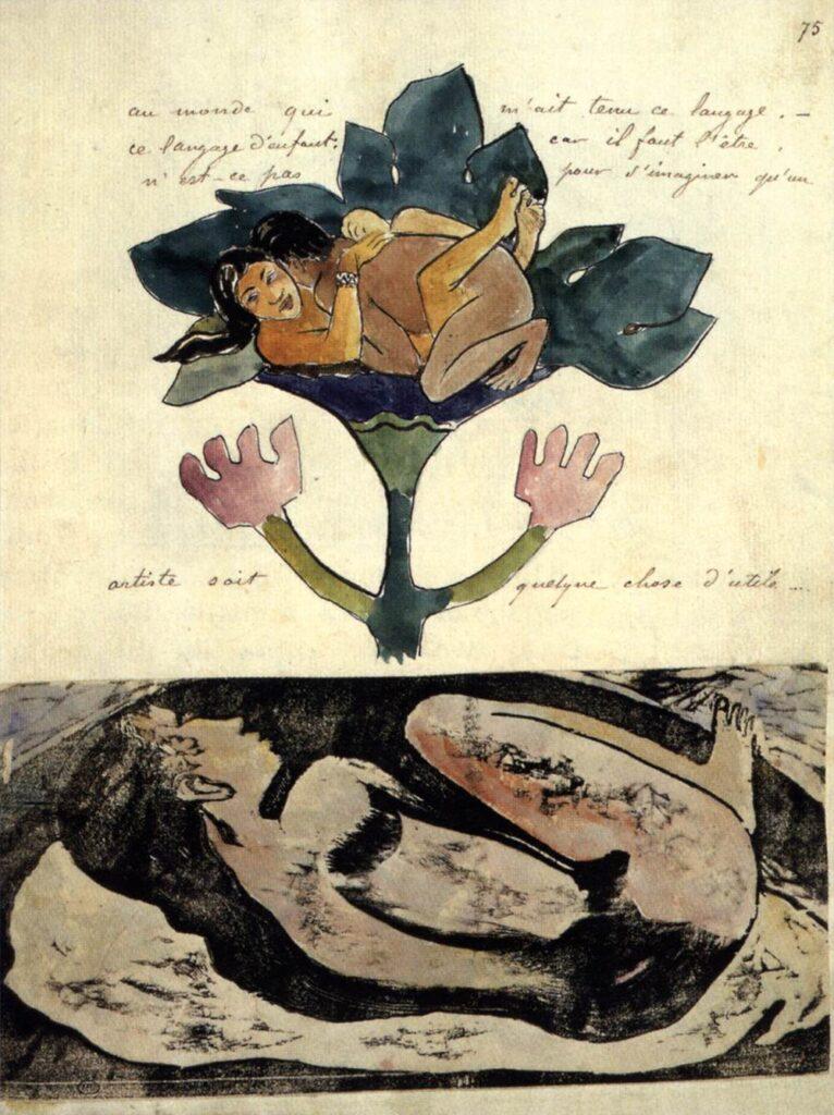 a gauguin eros fiore